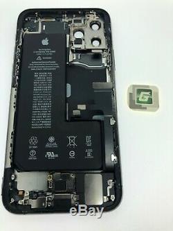 Iphone 11 Pro Max Logement Avec De Petites Pièces 100% Véritable Oem Pull Gris Noir