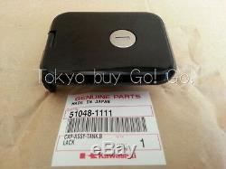 Kawasaki Gpz 750 550 Kz1100 1000 Réservoir De Carburant Cap Noir 51048-1111 Véritable Oem