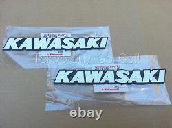 Kawasaki Kz750 Kz900 Kz1000 Ensemble Emblem De Réservoir De Carburant Nouveaux Pièces D'origine