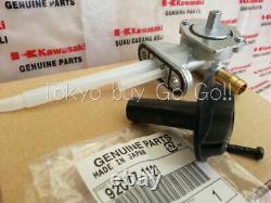 Kawasaki Ninja Zx-6r Zx-9r Zzr600 Fuel Tap Petcock + Knob Nouvelles Pièces D'origine