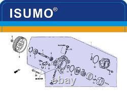 La Toute Nouvelle Pompe De Direction Assistée De Spécification D'oe Adapte Honda Accord 2003-2007 2.4l