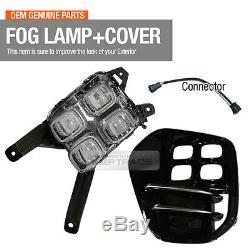 Led Avant Oem Antibrouillard Couvercle De La Lampe Assemblée Connecteur Lh Pour Kia Sportage 17-20