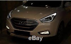 Led Drl Des Pièces D'origine Position Head Light Lamp Lh Pour Hyundai Tucson 10-15 Ix35