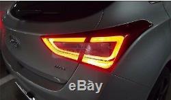Led Pièces D'origine Oem Arrière Feu Arrière Lampe 4pcs Pour Hyundai Elantra Gt 2013-2017