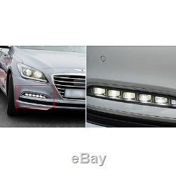 Led Pièces D'origine Oem Phares Antibrouillard Drl Rh + Lh Pour Hyundai 2014-2016 Genesis Sedan