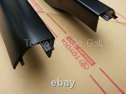 Lexus Rx330 Rx350 Rx400h Toit Arrière Rack End Cap Cover Lh+rh Ensemble Genuine Oem Part