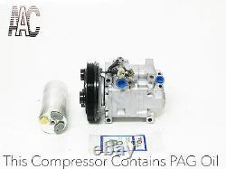 Mazda Protege 1.6l Genuine Oem USA Reman A/c Compresseur Kit 2001. Partie# 67480