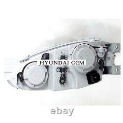 Nouveau 1997-1999 Hyundai Tiburon Headlight Assembly Lh & Rh Set Genuine Parts Oem