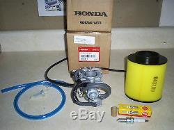 Nouveau Filtre-bouchon Honda D'origine Oem Recon 250 Carburateur-air-carburant 11 / 02-04 2line