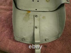 Oem 1936 Avant-guerre Knucklehead Arrière Fender Tail Piece, Solide Pièce Harley Authentique