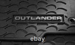 Oem All Weather 4 Pièces Tapis Outlander D'origine Mitsubishi Parts'07-'13