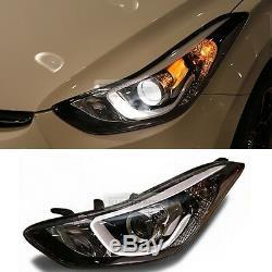 Oem Des Pièces Avant Tête Lampe (lh) Pour Hyundai Elantra 2011-2016 MD