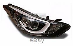 Oem Des Pièces Avant Tête Lampe (rh) Pour Hyundai Elantra 2011-2016 MD