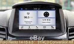 Oem Des Pièces D'origine 6.5 Ford Fiesta Sync 3 Kit De Mise À Niveau Pour Sync2 Avec Carplay Navi