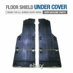 Oem Floor Rails Splash Shield Corps Sous Couverture Pour Hyundai 2009-17 Genesis Coupé