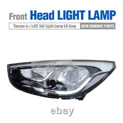 Oem Genuine Head Light Lampe Halogène Assy Lh Pour Hyundai 2010-2015 Tucson Ix35
