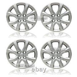 Oem Genuine Parts 14 Wheel Hub Cap Cover 4p For Hyundai 2012-14 Verna / Accent