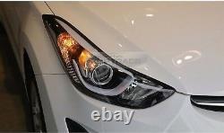 Oem Genuine Parts Front Head Light Lamp Lh+rh Pour Hyundai 2011-2016 Elantra MD