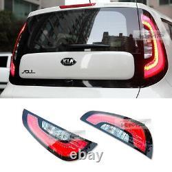 Oem Genuine Parts Led Rear Light Tail Lampe Lh Rh Assy Pour Kia 2014 2018 Soul