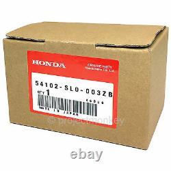 Oem Honda 91-99 Acura Nsx Na1 Na2 Black Leather Shift Knob Shiftkob Genuine Part