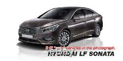 Oem Pare-chocs Arrière Double Silencieux Diffuseur Skid Jupe Pour Hyundai 2015-2017 Lf Sonata