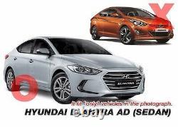 Oem Pare-chocs Drl Brouillard Lampe Légère Assay Cover Lh Rh Câblage Pour Hyundai 17-18 Elantra
