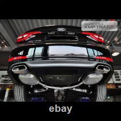 Oem Parts Rear Bumper Dual Muffler Diffuseur Skid For Hyundai 2015-2017 Lf Sonata