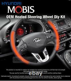 Oem Pièces Authentiques Heated Steering Wheel Diy Kit Pour Kia 2011 2016 Sportage R