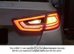 Oem Pièces D'origine Arrière Feu Arrière Lampe Lh Rh Pour Kia Optima 2014-2015 K5 Hybride