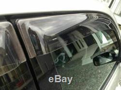 Oem Toyota Lexus Is300 00-05 Altezza Fenêtre Pluie Vent Visor Set Pièce D'origine Jdm