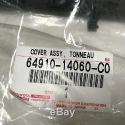 Oem Toyota Supra 93-98 Cargo Arrière Du Coffre Hatch Roll Up Tonneau Cover Pièce D'origine