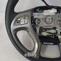 Oem Volant En Cuir Poignée Kit Bluetooth Pour Hyundai Tucson IX 2010-2015