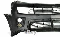 Pare-chocs Avant Style Réel Zl1 Camaro 10-13 Avec Lampe Ensemble Antibrouillard Grille Complète