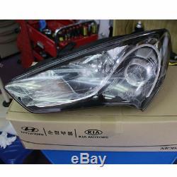 Pièces D'origine Halogène Head Light Lamp L + R Pour Hyundai 2013-2017 Genesis Coupé