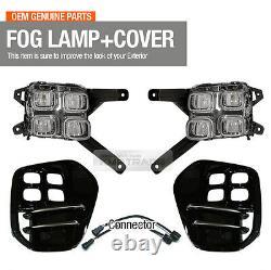 Pièces Oem Led Fog Light Lamp Cover Connector Lh Rh Pour Kia 2017-2020 Sportage