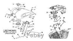 Polaris Throttle Body Adapter, Genuine Oem Part 1253335, Qty 1