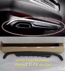 Pour 2015 Hyundai Sonata Lf Double Arrière Diffuseur Silencieux Oem Véritable Cover Parts