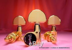 Série Takamine Pro Tuner 6 Cordes / Gold / Véritable Oem Tp0516