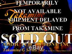 Takamine G Series Guitare Acoustique Nut Tgp0753 / Pré Slotted / Véritable Oem