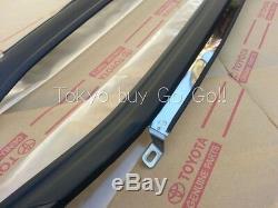 Toyota Corolla Cp Coupe Ae86 Windowshield Extérieur Mouldingd Set Véritable Oem