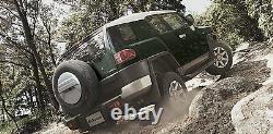 Toyota Fj Cruiser Gsj15w Visière De Fenêtre De Porte Nouveau Véritables Pièces Oem 2006-2016