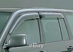 Toyota Land Cruiser 100 Lx470 Fenêtre Côté Pluie Garde Visor Nouveau Véritable Pièces Oem