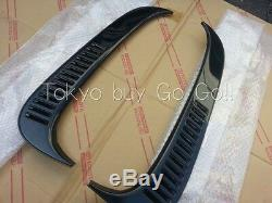 Toyota Land Cruiser 80 Lx450 Quarter Vent Louver Lh + Rh Set Nouveau Véritable Oem