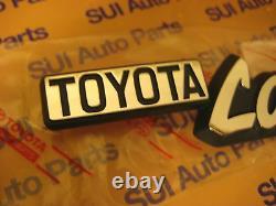 Toyota Land Cruiser Fj40 Bj40 Fender Emblems Véritable Oem Pièces Toyota 1974-1981