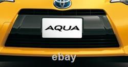 Toyota Prius C Aqua Avant Pare-chocs Noir Garniture Nhp10 Pièces Oem Authentiques 2012-2014