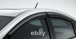 Toyota Prius Zvw30 Zvw35 Phv Fenêtre De Porte Visière Nouvelle Pièces Oem Authentiques 2009-2015