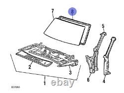Toyota Starlet Kp60 Kp61 Avant Weatherstrip Pare-brise Seal Genuine Parts Oem