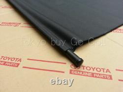 Toyota Supra 80 Tonneau Cover Trunk Hatch Roll Nouveaux Véritables Pièces Oem 1993-98