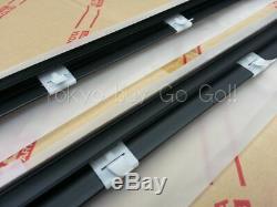 Toyota Supra Jza80 Porte Extérieur Ceinture De Moulage Rh + Lh Set Nouveau Véritable Pièces Oem