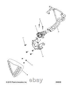 Valve De Contrôle D'air Polaris Idle, Véritable Oem Part 4011638, Qté 1